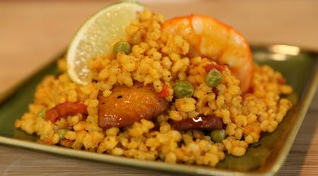 Easy Shrimp and Chicken Paella Recipe