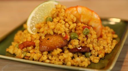 Chicken Paella with a Twist
