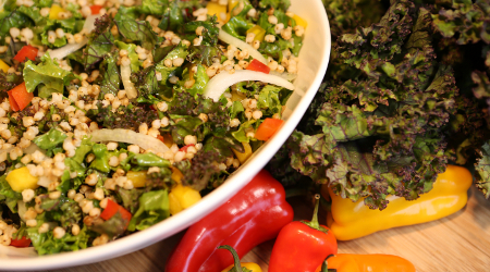 Kale Salad with Wholegrain Recipe