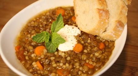 Lentil Soup with Wonergrain