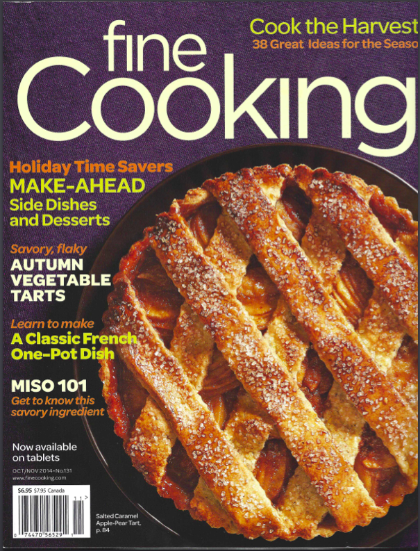 Fine Foods Magazine Front Page