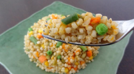 Vegetable Medley Sorghum Recipe